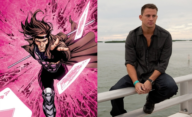 Channing Tatum will play the X-Man Gambit