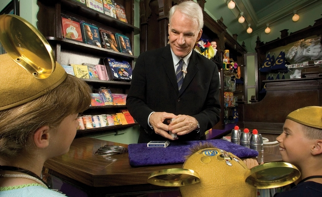 Steve Martin is heading back to Disneyland, to attend Magic Camp