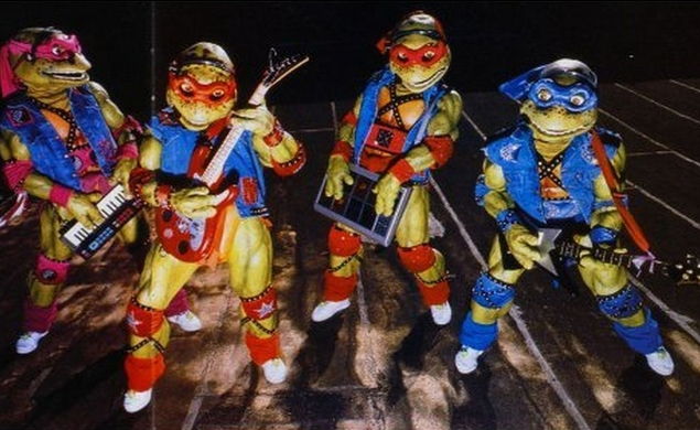 Mutations: In The Early '90s, The Teenage Mutant Ninja Turtles (briefly) ... / The Dissolve