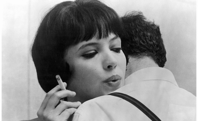 Out Of The Past: Anna Karina was born on this date in 1940
