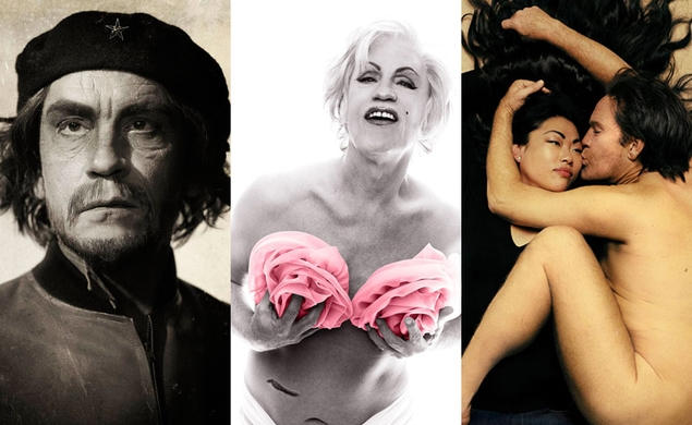 A new photography exhibit Malkovich-ifys iconic portraits