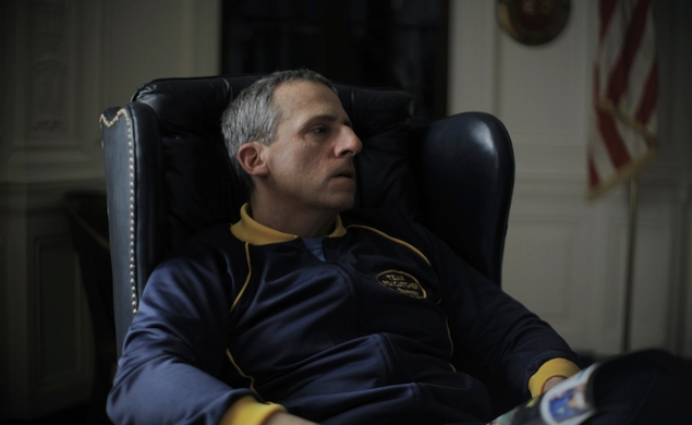 Going to the mat with the Foxcatcher trailer