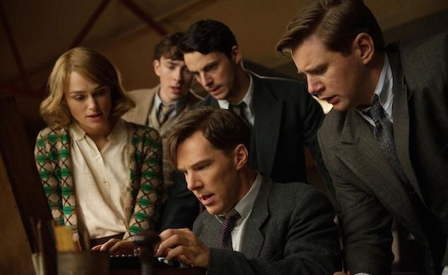 Benedict Cumberbatch works up a sweat in new trailer for The Imitation Game