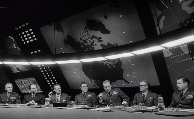 02/19/15: Dr. Strangelove or: How I Learned To Stop Worrying And Love The Bomb, on TCM