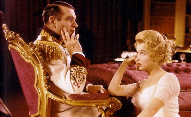4/8/2015: The Prince And The Showgirl on TCM