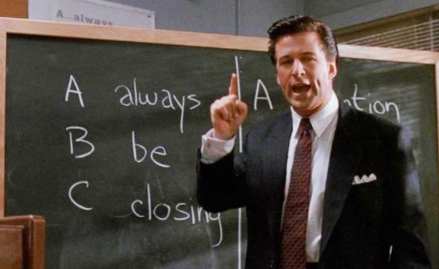 Our next Movie Of The Week: Glengarry Glen Ross
