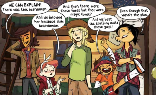 Funny, feminist comic Lumberjanes will be adapted into a feature film