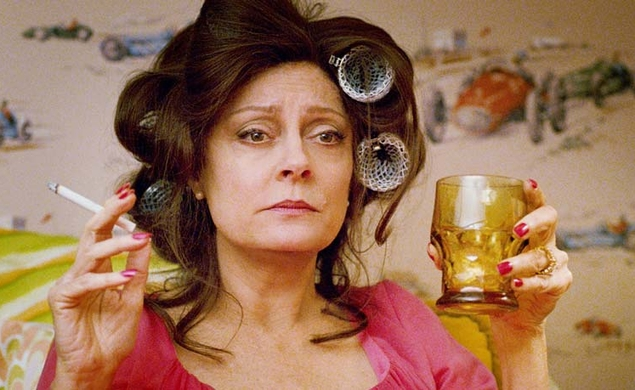 "Susan Sarandon will play an irritated teacher in ""children's satire"" Frindle"
