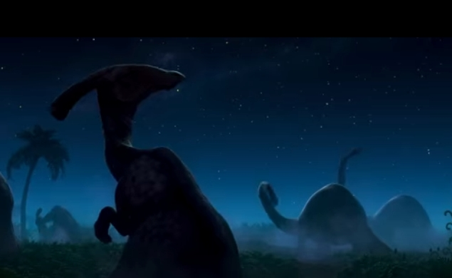 Here's the first teaser trailer for Pixar's The Good Dinosaur