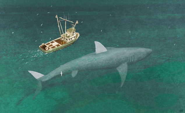 Eli Roth to direct giant killer shark movie Meg for Warner Bros.