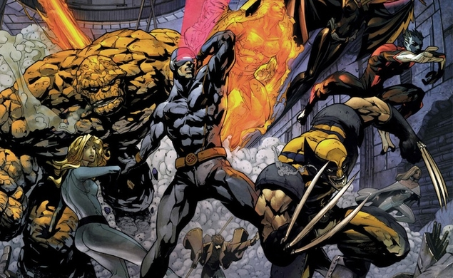 Fantastic Four and X-Men could share a universe, because Avengers