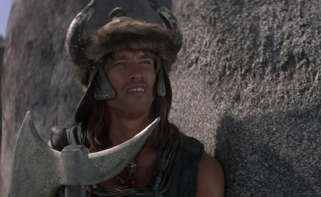 Image result for schwarzenegger crom