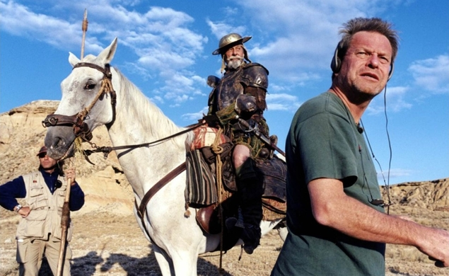 "Terry Gilliam says he's ""almost"" ready to give up on Don Quixote"