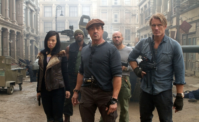 Sylvester Stallone teases Mel Gibson for The Expendables 3