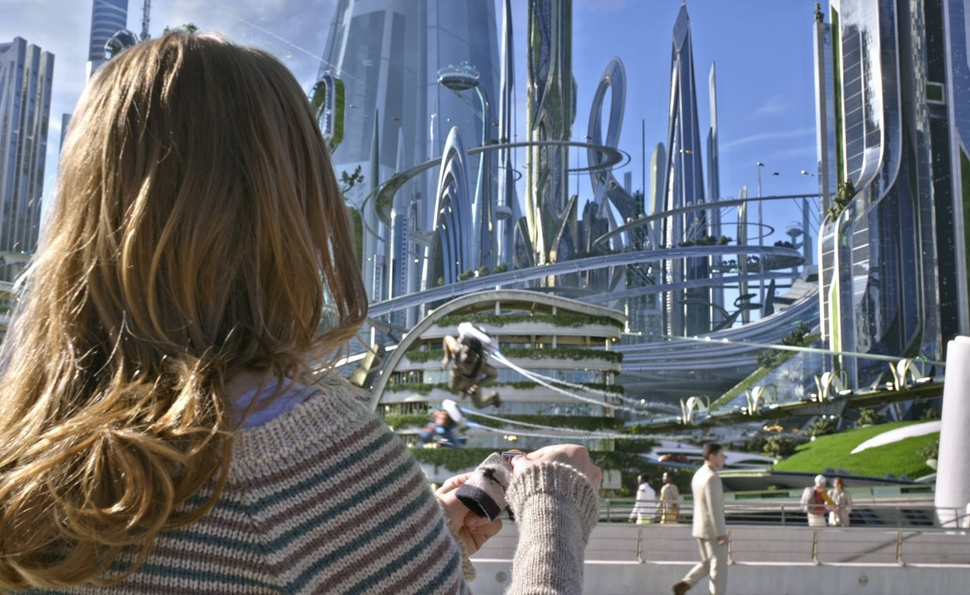 No matter what Tomorrowland says, the future has always looked bleak on film