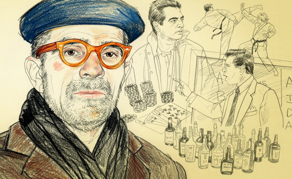 The meticulously constructed film work of David Mamet
