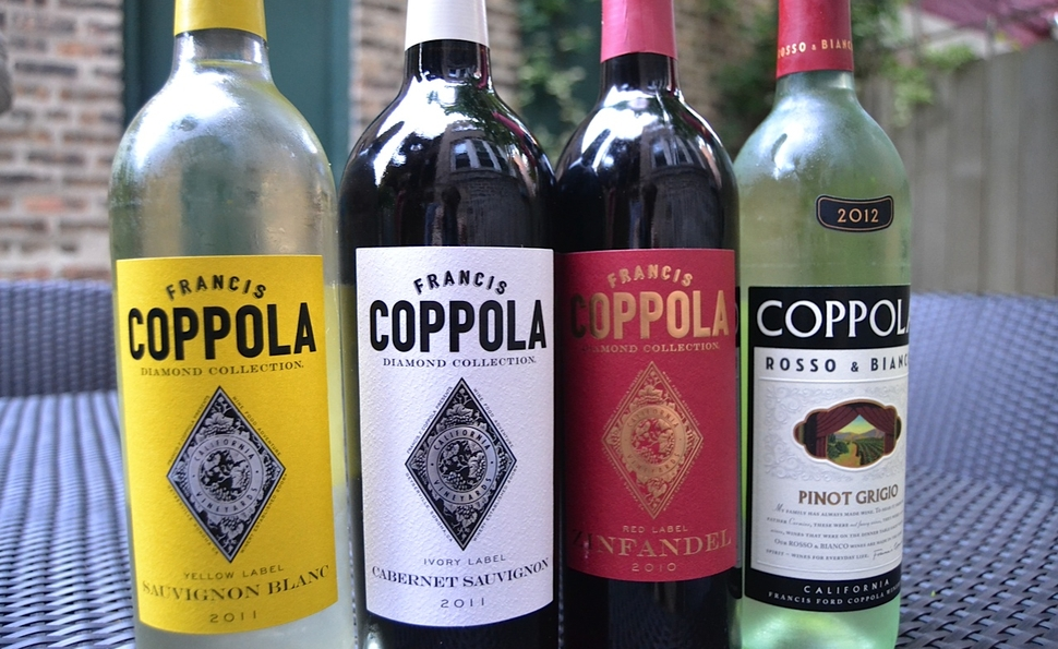 Francis Ford Coppola takes the same approach to wine and film