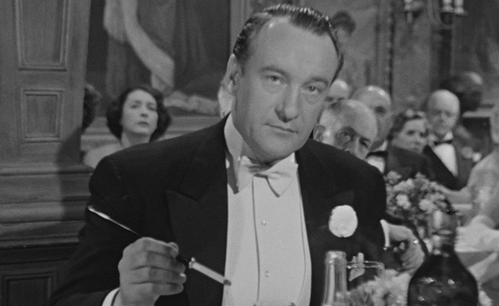 In 1950, George Sanders sleazed his way to a well-deserved honor