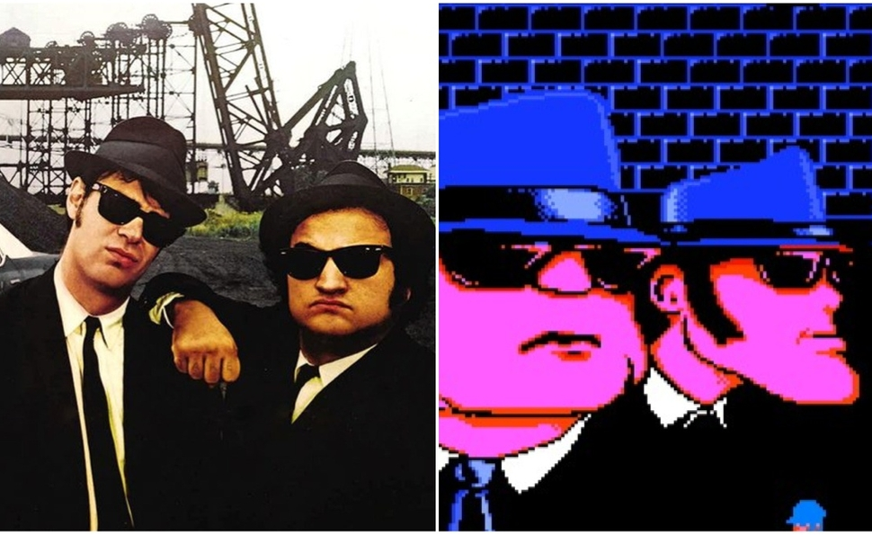 Playing The Blues Brothers