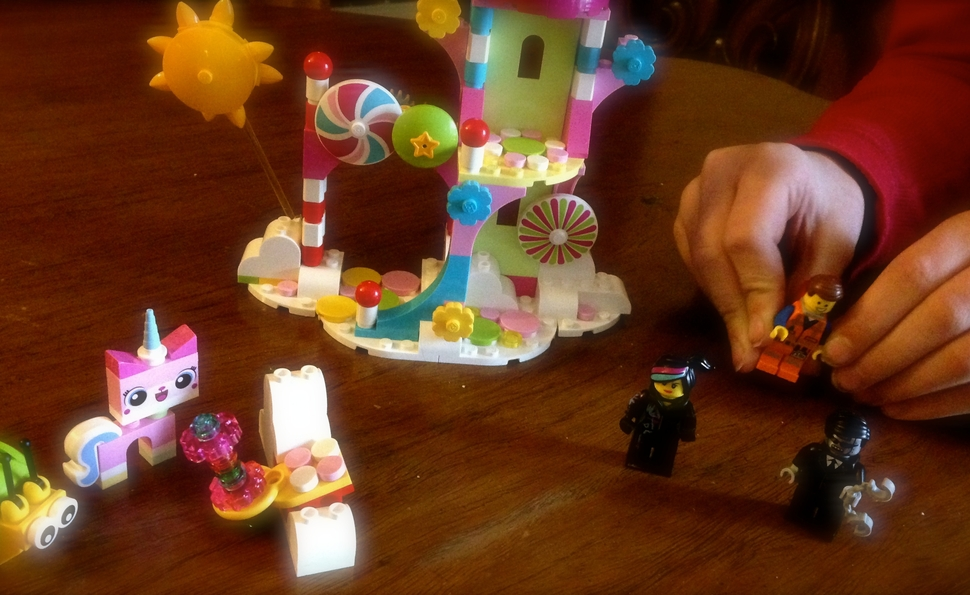 The Lego Movie's Cloud Cuckoo Palace: Some assembly required