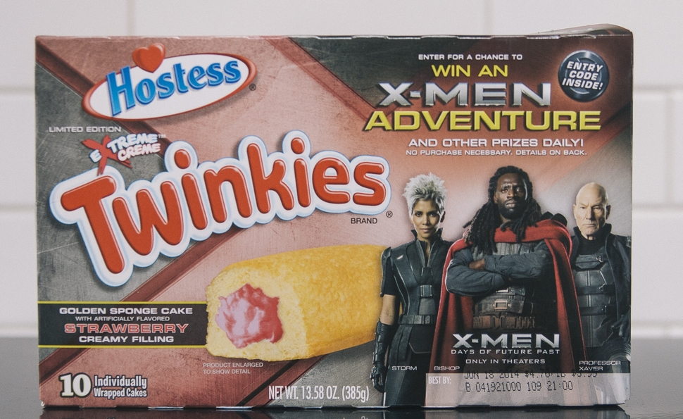 X-Men: Days Of Future Past inspires a mutant Twinkie for a mutant sequel