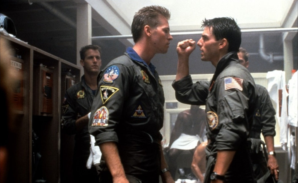 In Top Gun, it's always magic hour for the best of the best