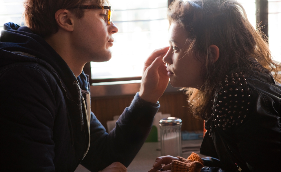 I Origins' director and star talk religion, science, and backstory—on and offscreen
