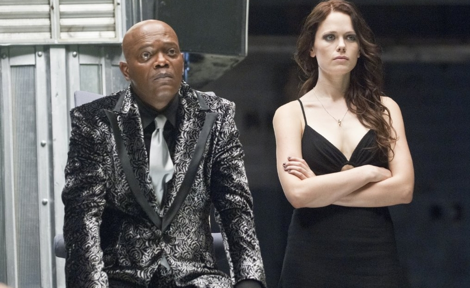 A shameless Samuel L. Jackson monopolizes the fight-to-the-death fun of Arena