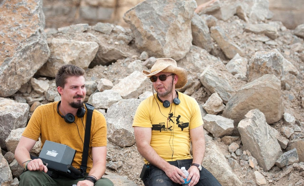 Adam Wingard, Simon Barrett, and Dan Stevens on The Guest, and its place in their big plan