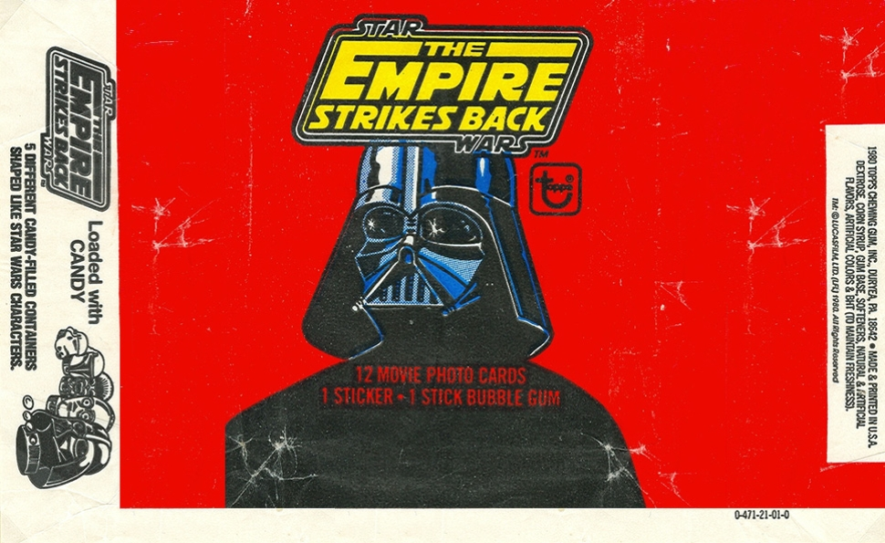 Topps' The Empire Strikes Back trading cards let fans love the film before they even saw it