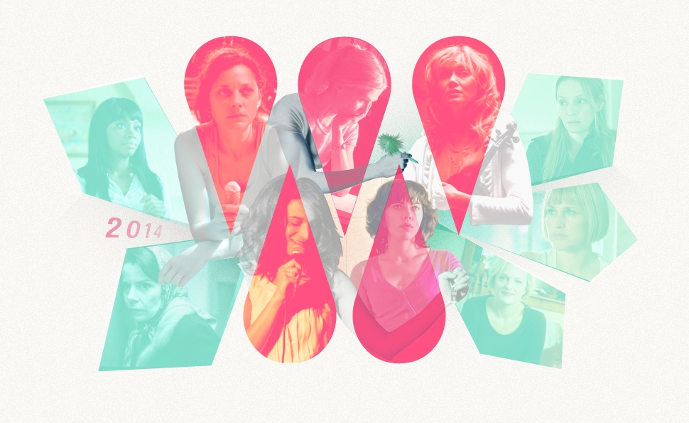 2014's Best Acting: The Women