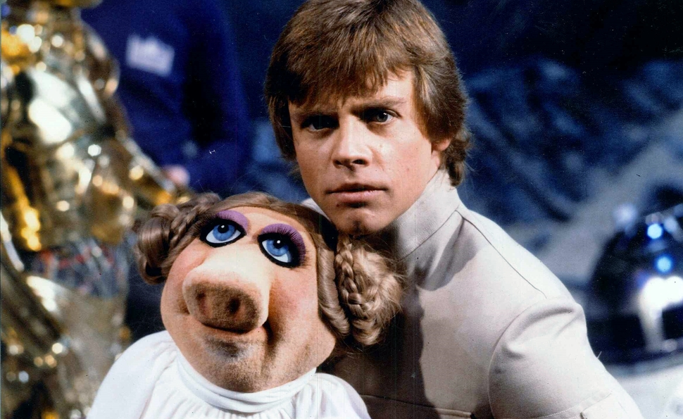 When the Muppets met Star Wars