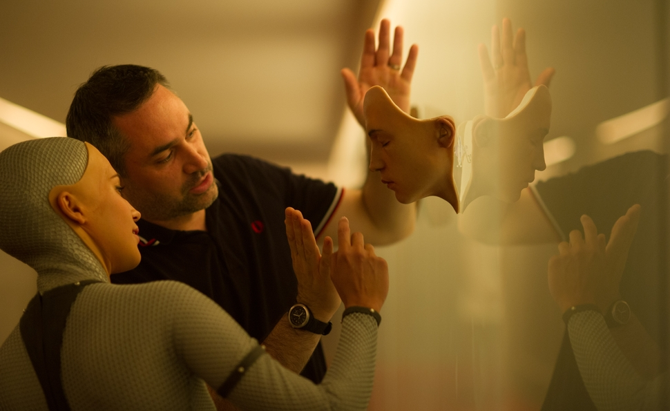 Alex Garland is fine with not having answers for Ex Machina's questions