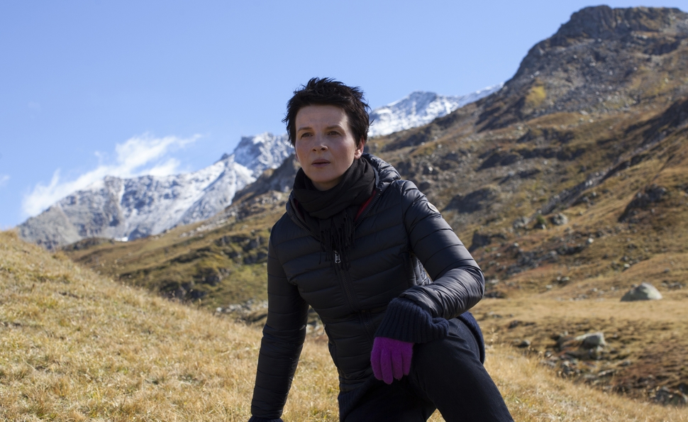 Juliette Binoche and Olivier Assayas on Clouds Of Sils Maria's hall of mirrors